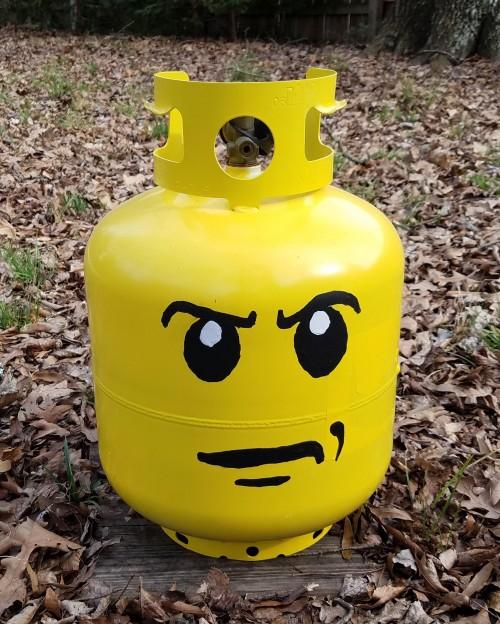 art gas bottle