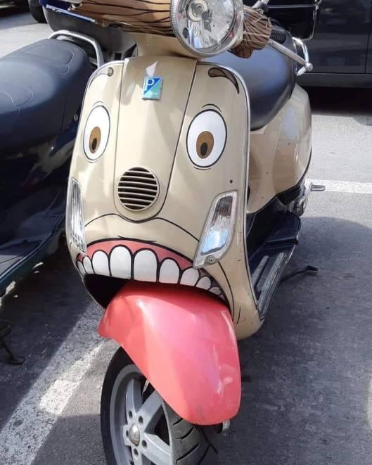 art motorscooter