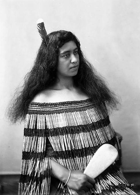 Utauta Parata at Parihaka 1898