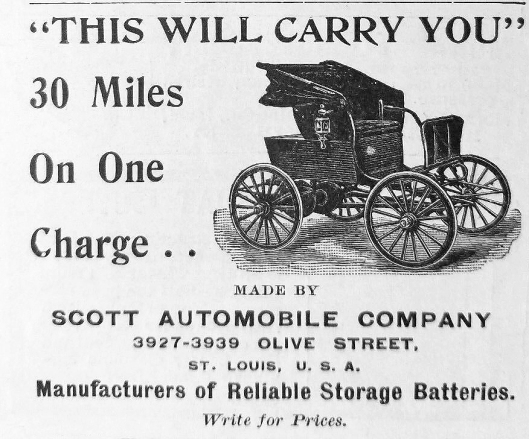 Scott electric car