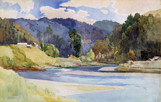 Waikanae River Frank Wright 1906-1907