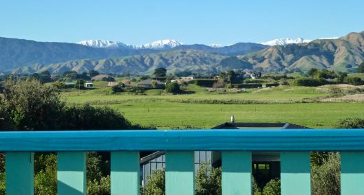 Tararuas from Te Horo Queenslander