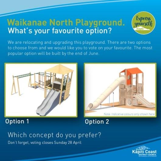 Waikane Nth playground