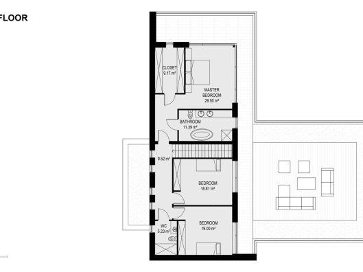 House 2-206 Ngarara Road, plan