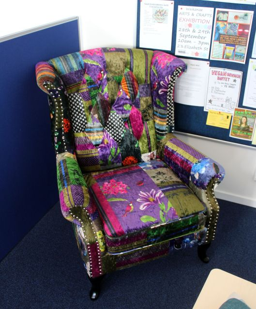 Library fancy armchair
