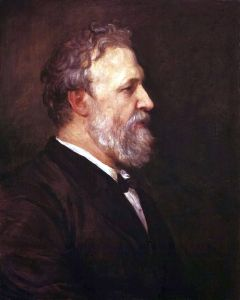 Robert Browning - by George Frederic Watts