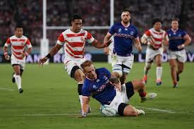 RWC Russia's opening try