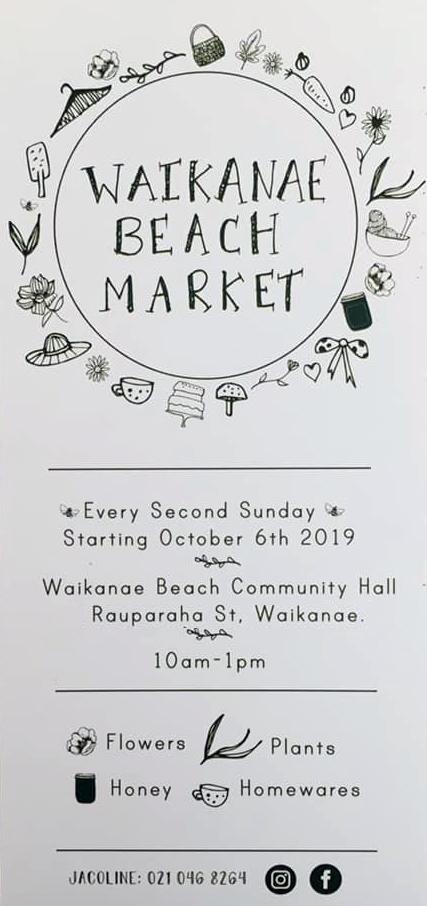 WaikanaeBeach market