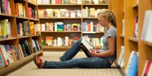 bookgirl lotsa shelves