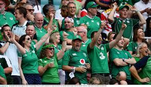 Irish fans 1