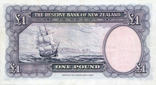 NZ 1 pound obverse