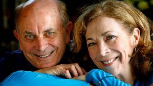 Roger Robinson and Kathrine Switzer