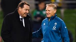 Steve Hansen and Joe Schmidt