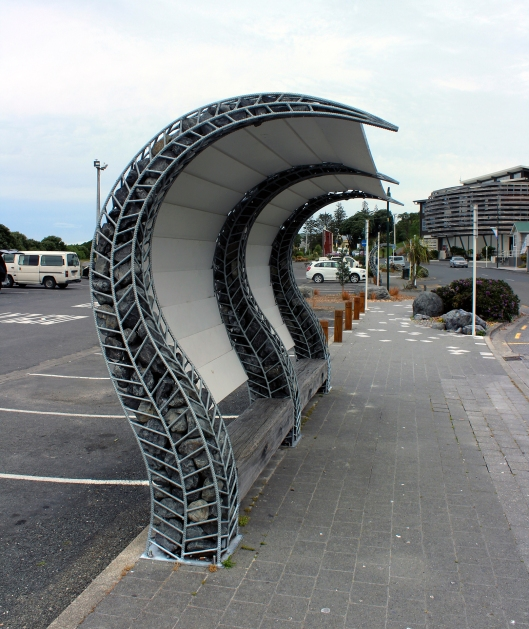 bus shelter wav