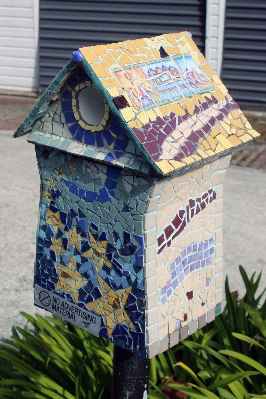 ceramic mailbox