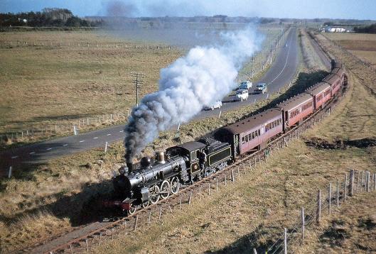 NZR Foxton Branch 1959 last train Jack Creber