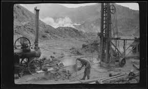 White Island Sulphur mining