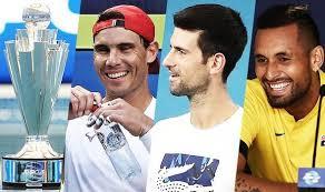 ATP Cup - Nadal, Djokovic and Kyrgios