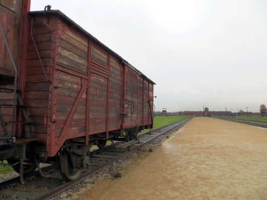 Auschwitz box car