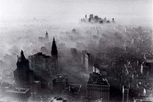 NYC smog 1966