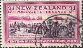 NZ Stamp Petone