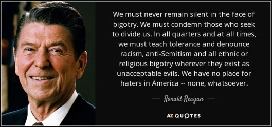 ronald-reagan bigotry