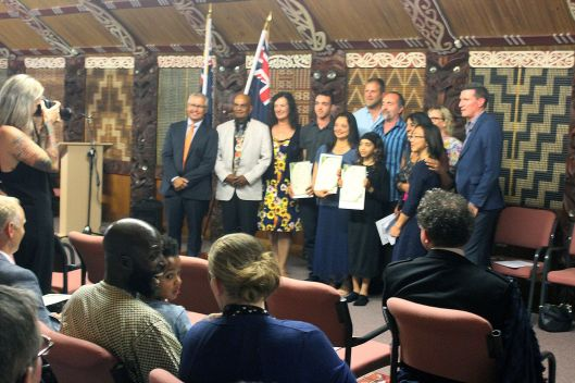 Citizenship Ceremony Otaki