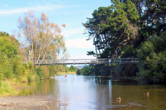 Otaihanga bridge