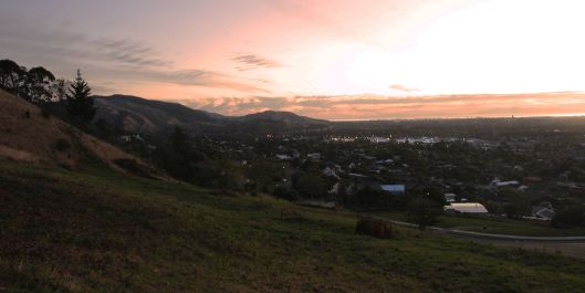 Waikanae sunset hills