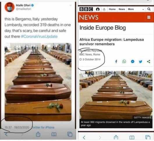 BBC fakery