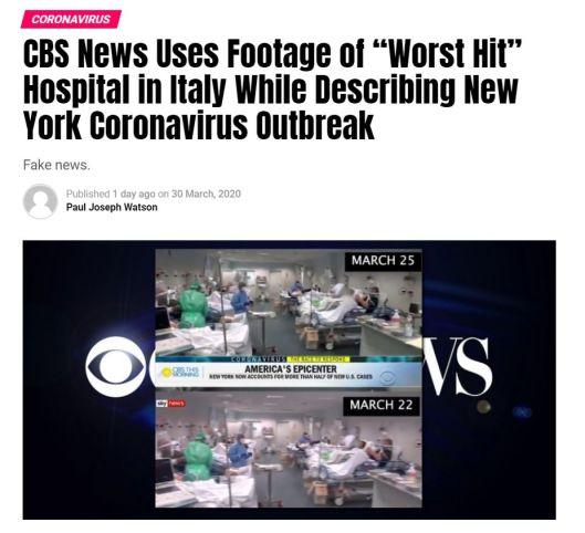 CBS fakery