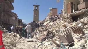 Italy Covid 1 Amatricia erthquake