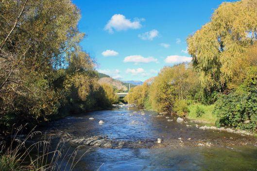 Waikanae River nach Osten