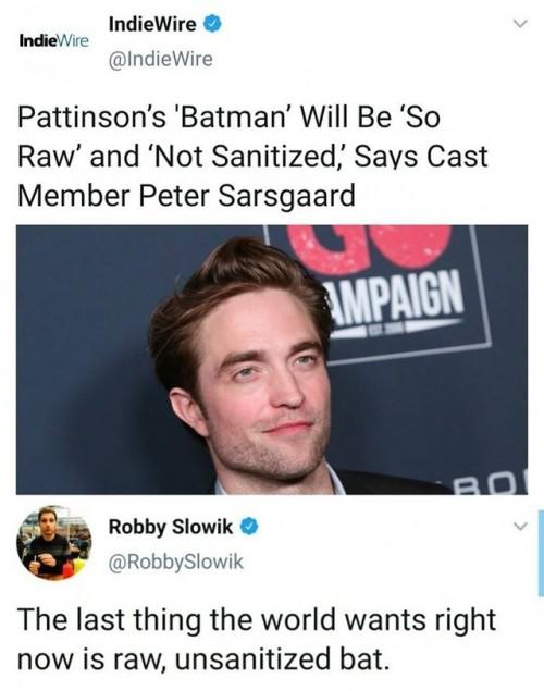 cv batman