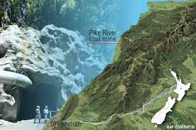 Pike River location