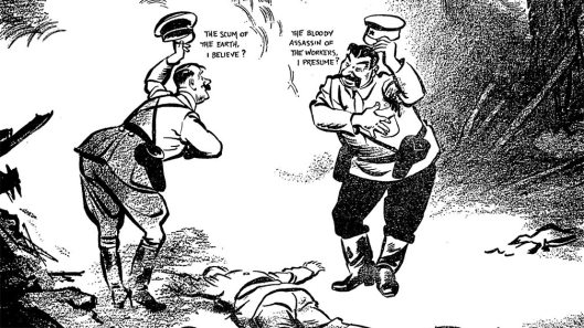 Low Non Agression Pact cartoon