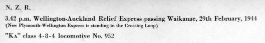 Waikanae 1944 info