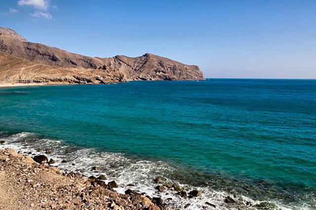 Beach and Sea Aden Yemen